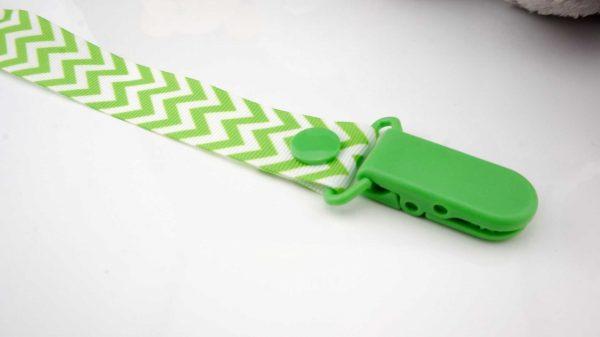 Chevron Green on White – Green Clip 2